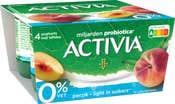 Activia 0% Perzik