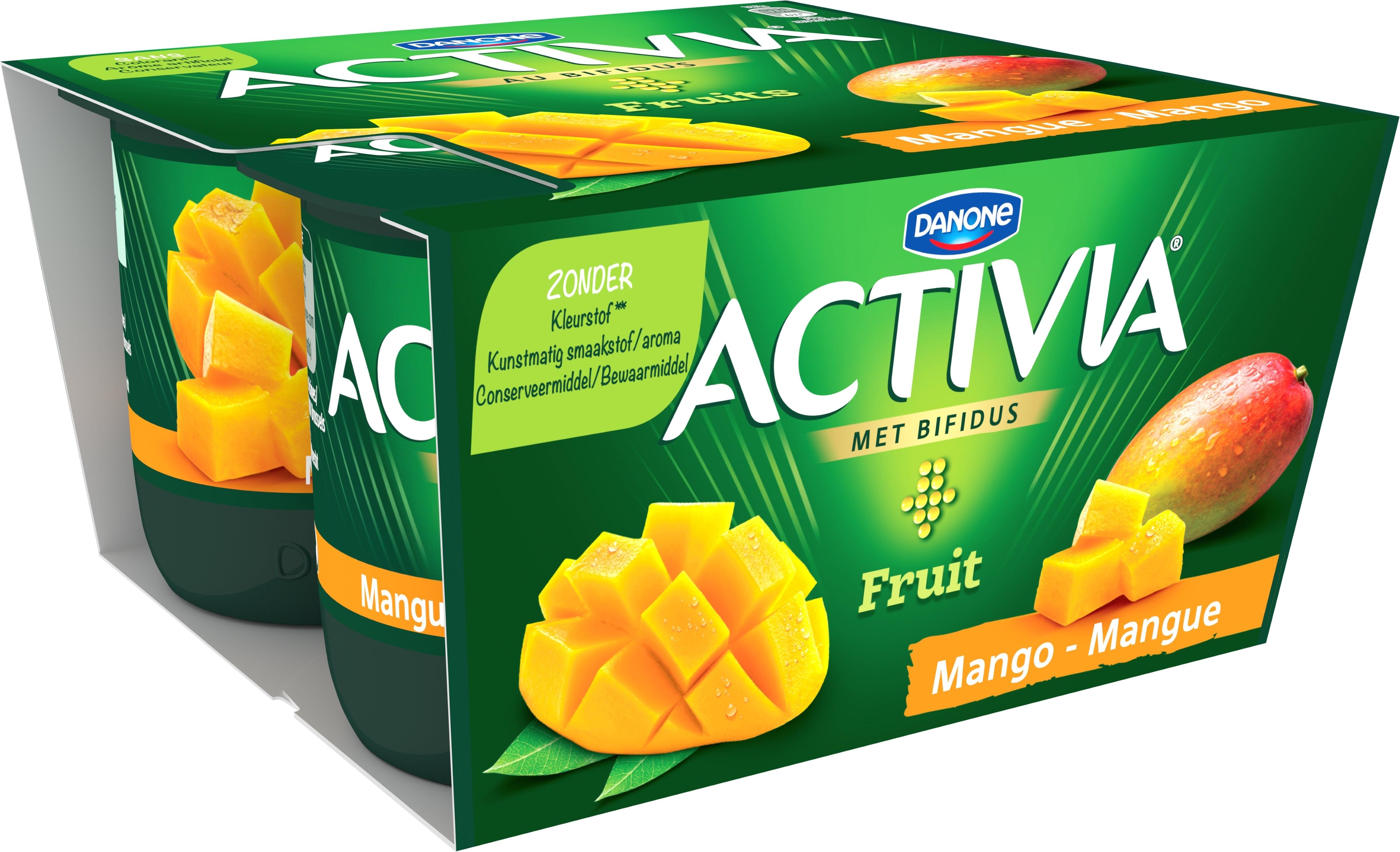 Activia Mangue Entier 4x125g