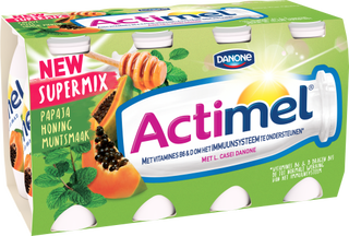 Actimel Supermix Papaye