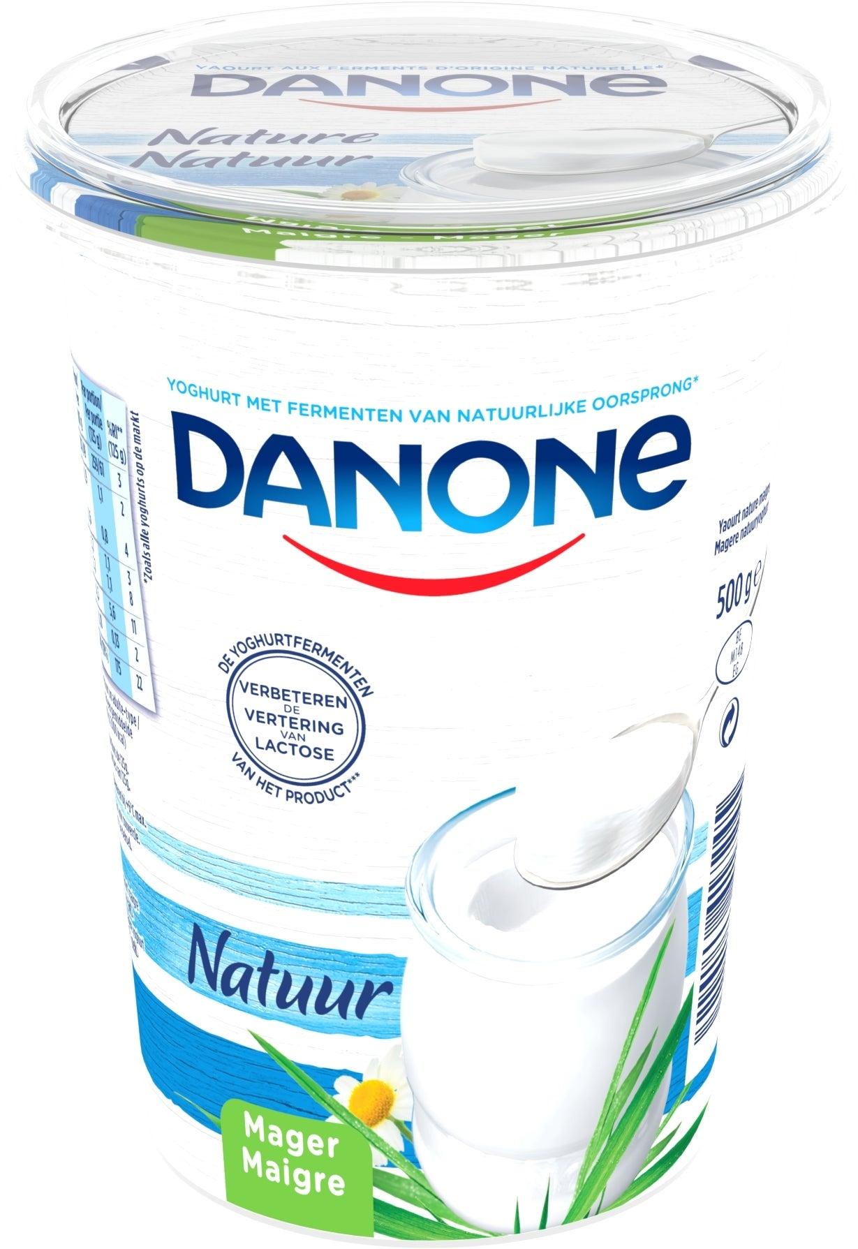 Danone Magere Yoghurt 500gr Natuur