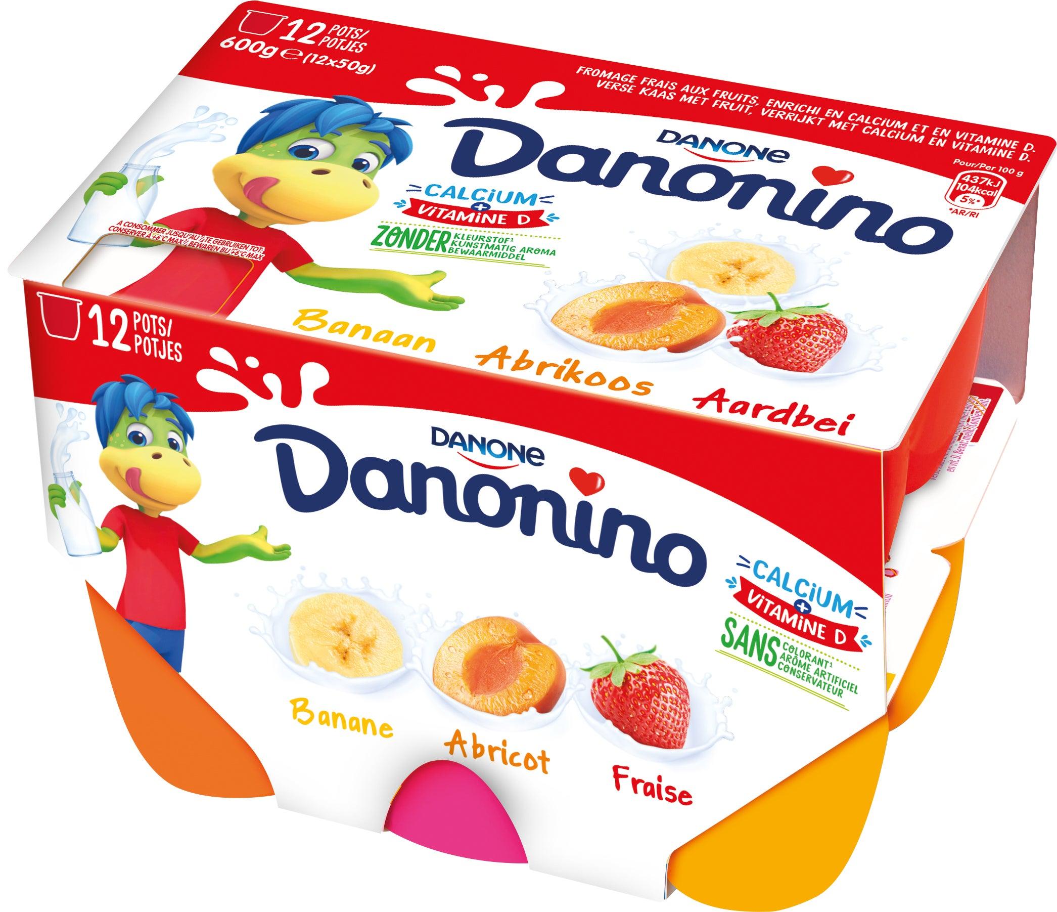 Danonino met Vruchten 12x50g