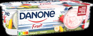 Danone Fruit - Perzik Aardbei Kers Bosbes