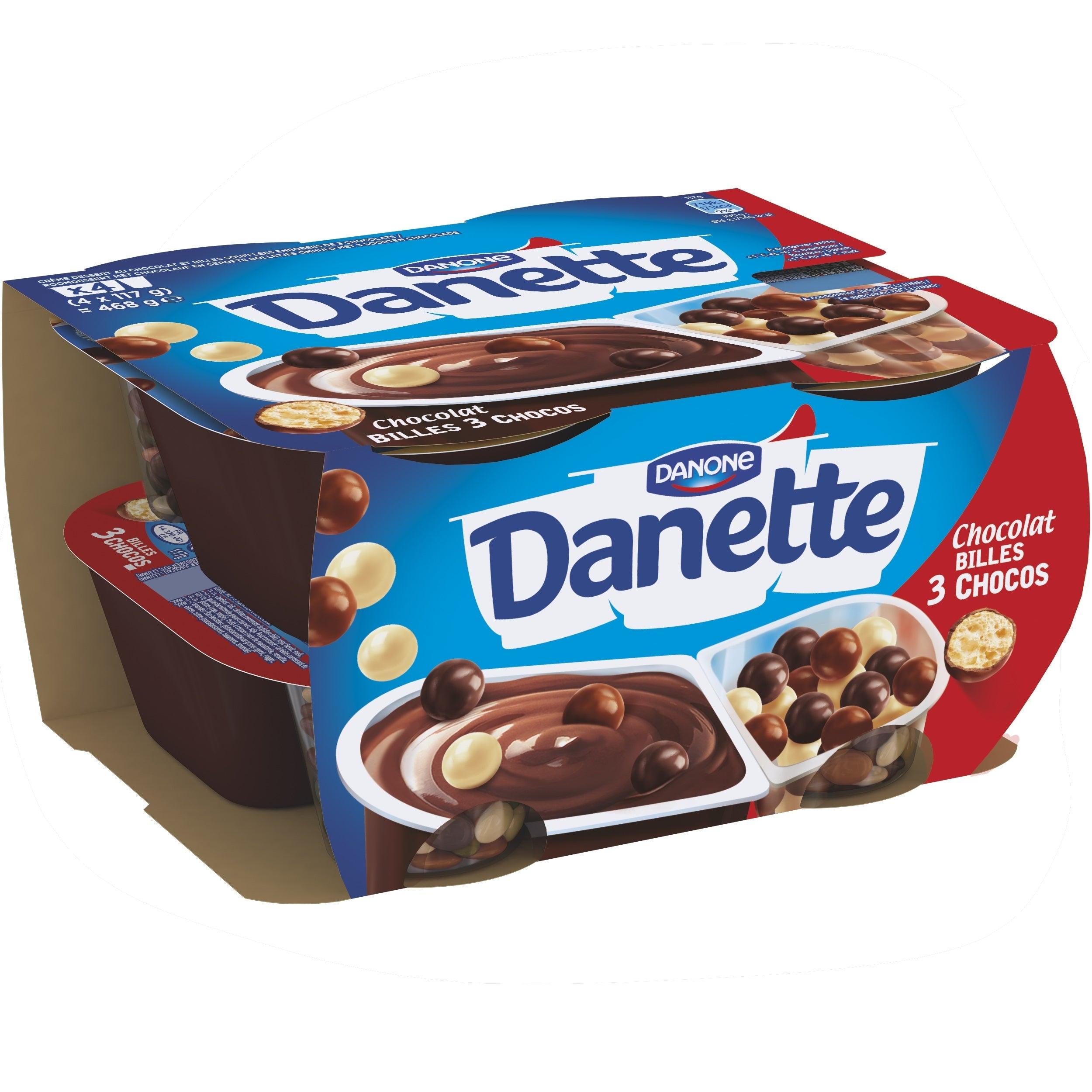 Danette POP Chocolat 4x117g