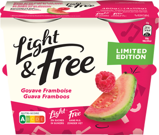 Light & Free Goyave Framboise