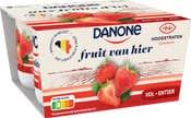 Danone Fruit Van Hier met Hoogstraten aardbeien