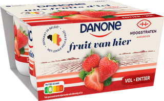Danone Fruits d'Ici aux fraises Hoogstraten