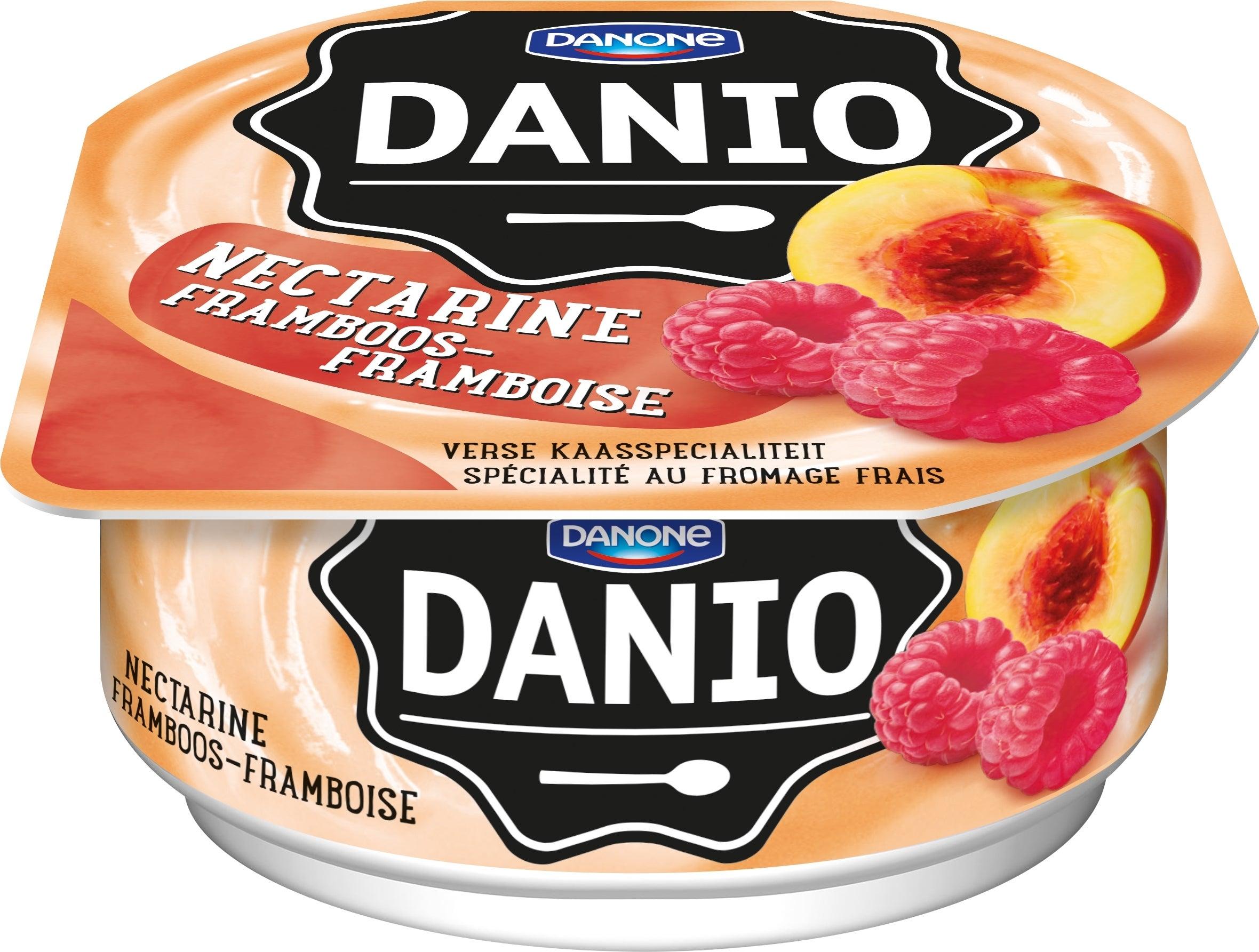 Danio Framboos-Nectarine 180g
