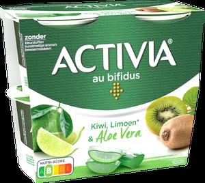 Activia Kiwi Citron Vert & Aloe Vera