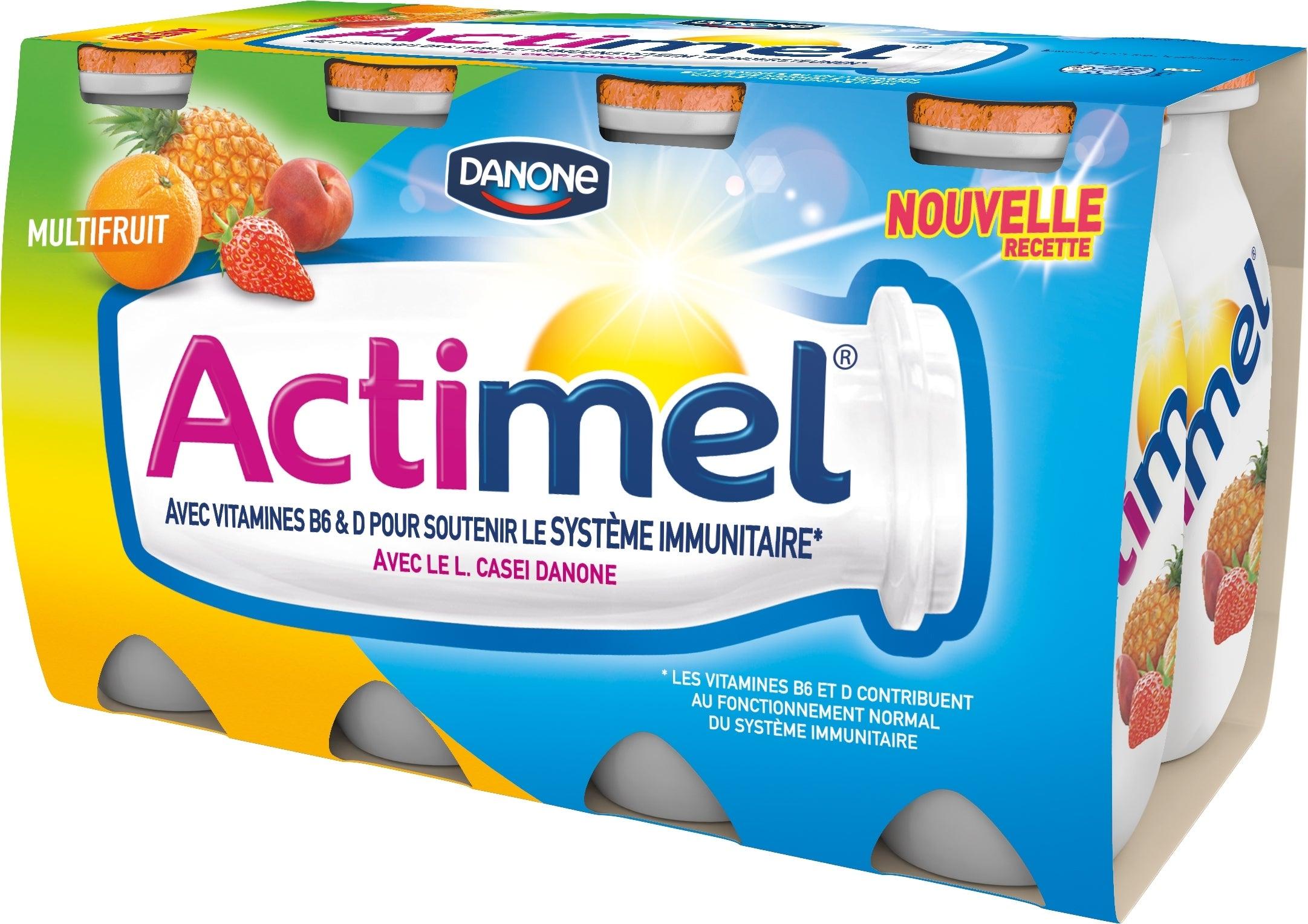 Actimel Multivruchten 8x100ml