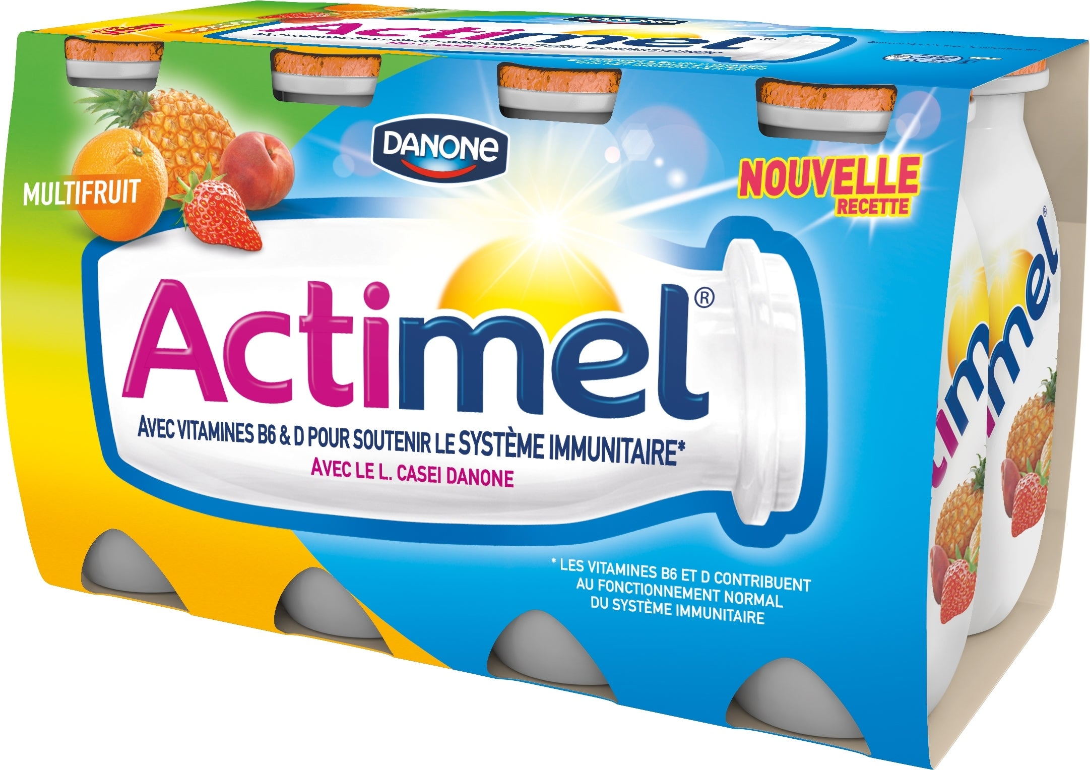 Actimel Multifruit 8x100ml