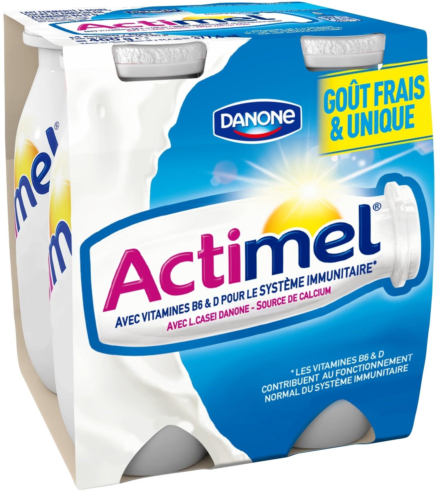 Actimel natuur 4x100 ml