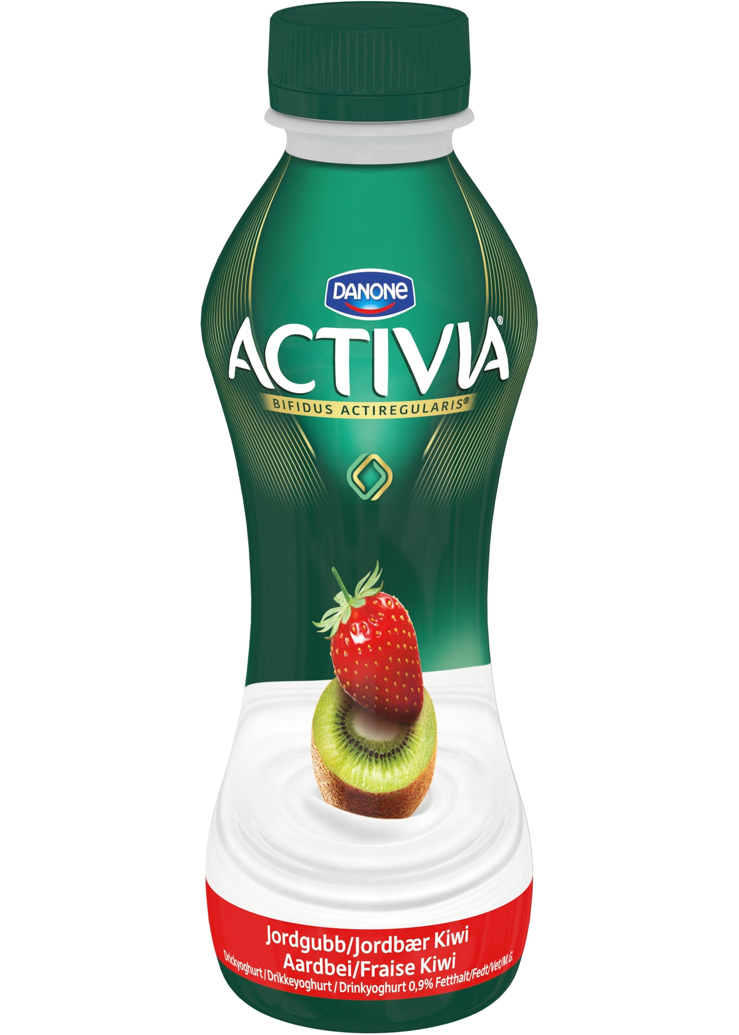 Activia yog. drink 310ml fraise kiwi