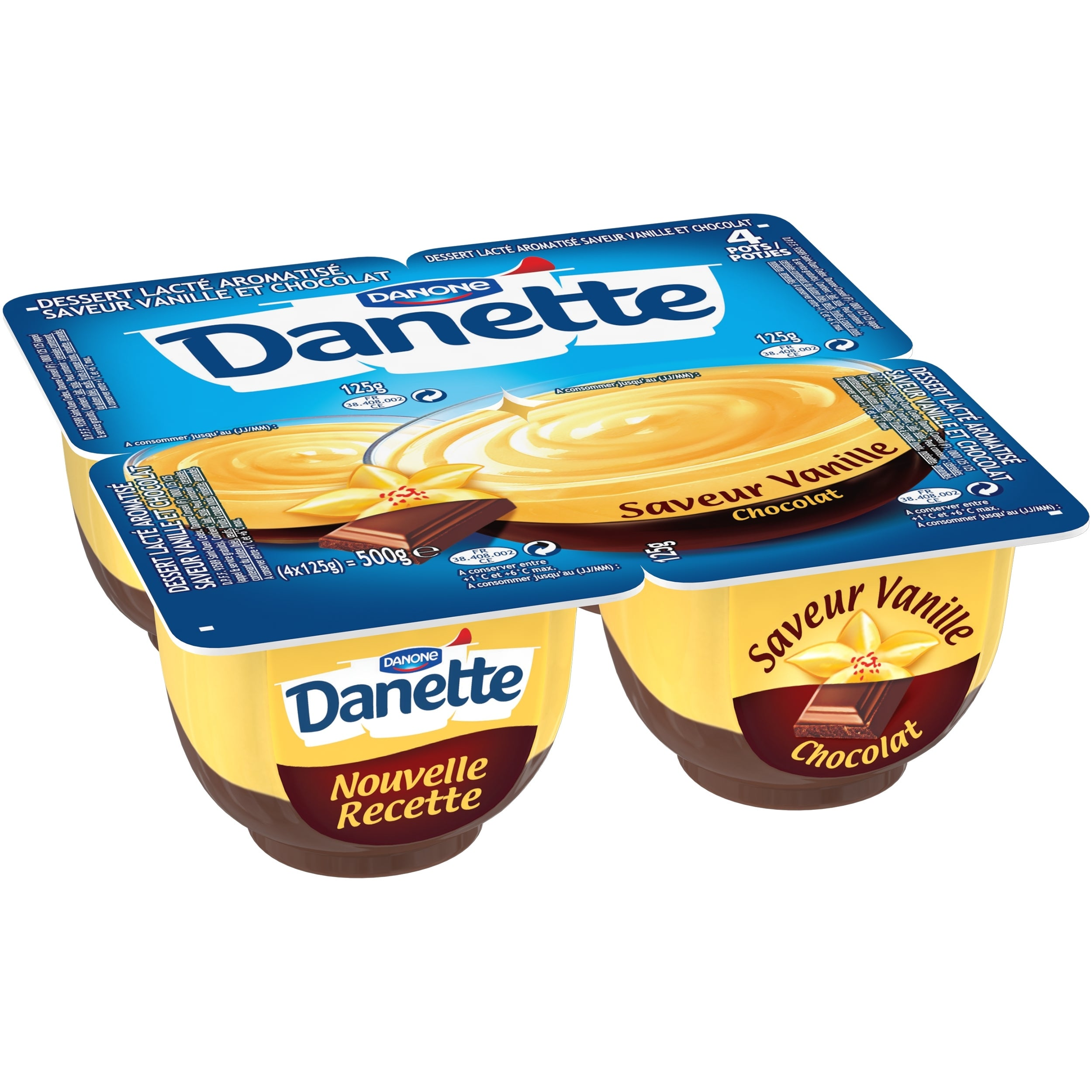 Danette Vanillesmaak & Chocolade