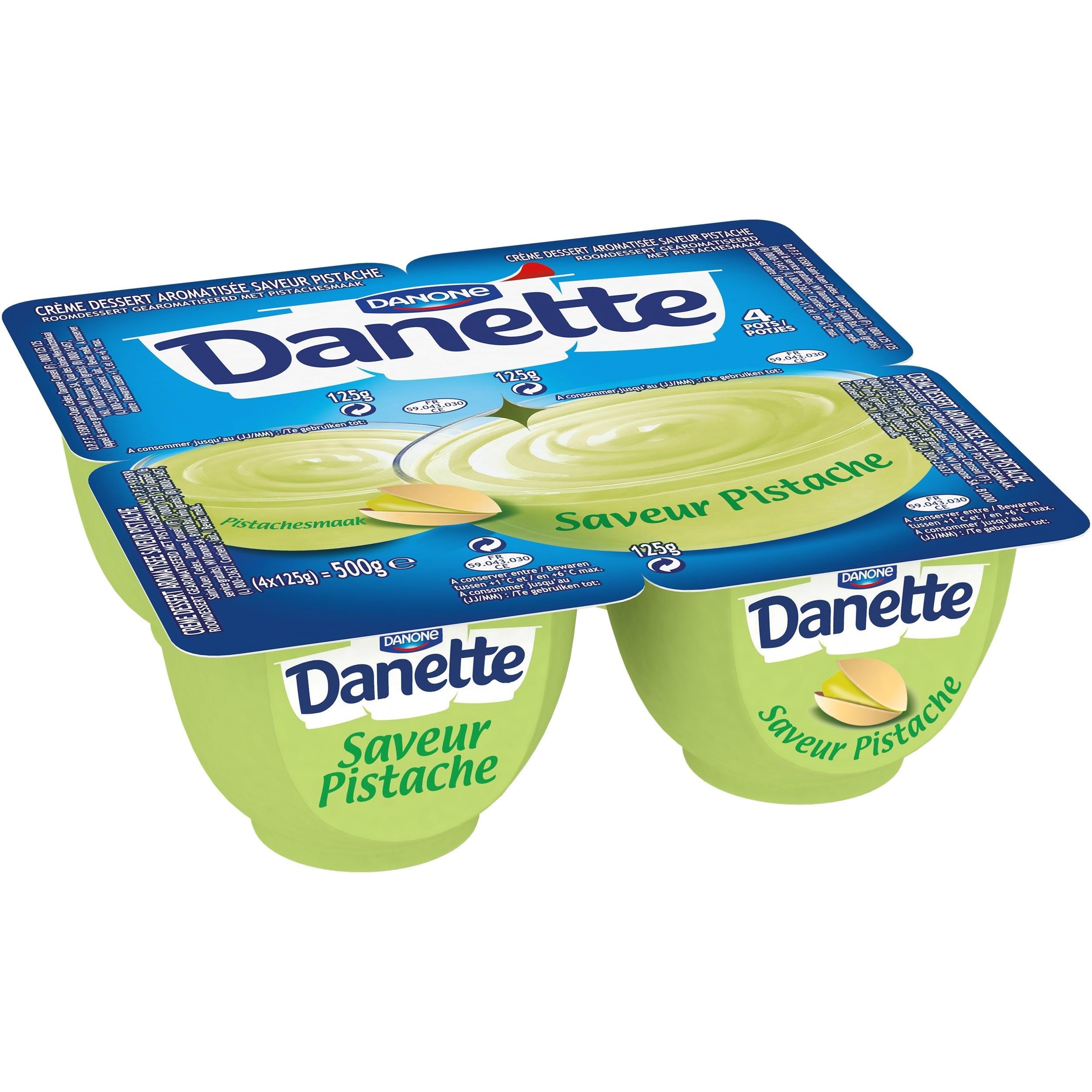 Danette Pistache 4x125g