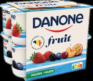 Danone Fruit - Exotisch Fruit Aardbei Framboos Bosbes