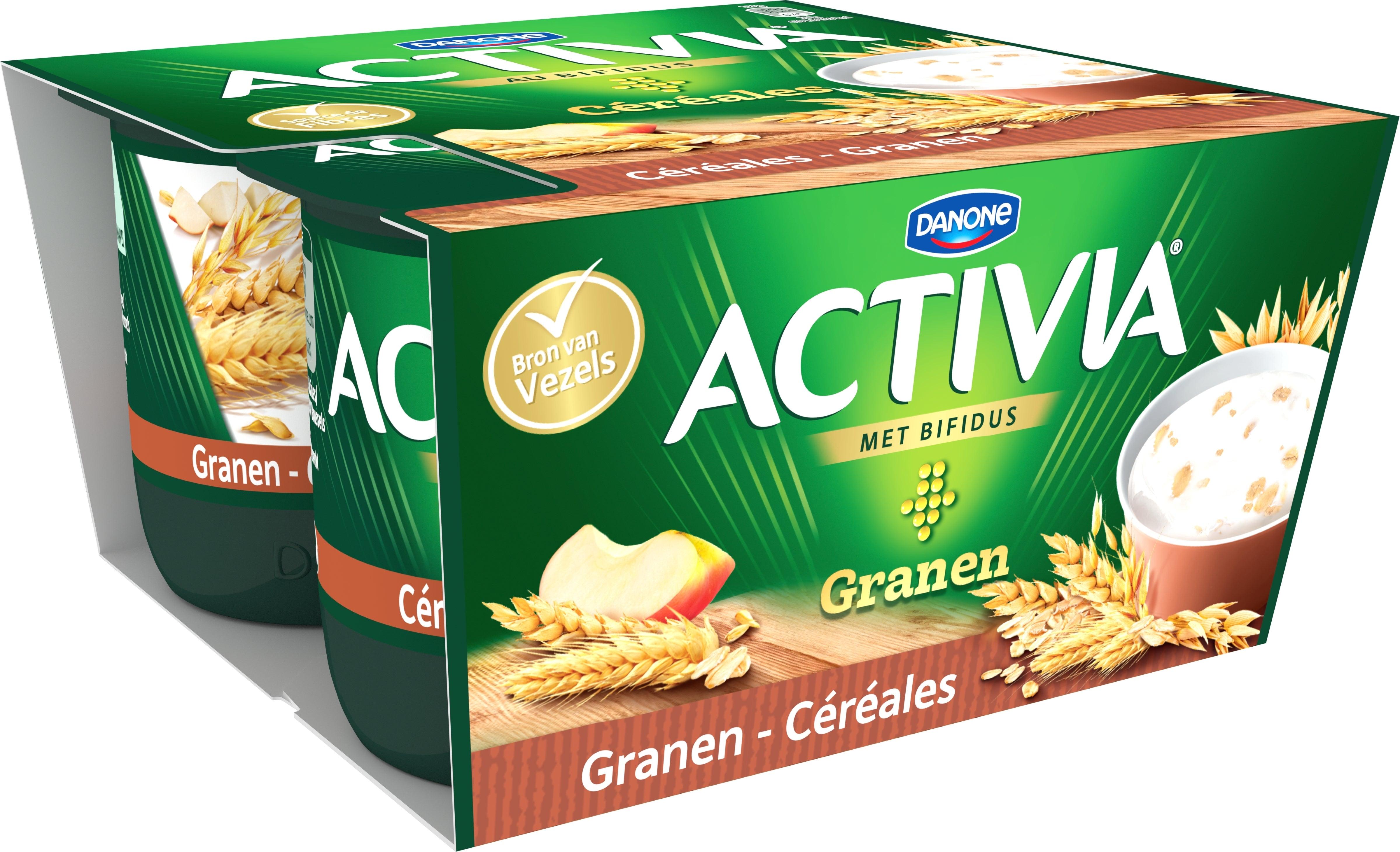 Activia Céréales 4x125g
