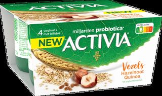 Activia Fibres - Noisette-Quinoa