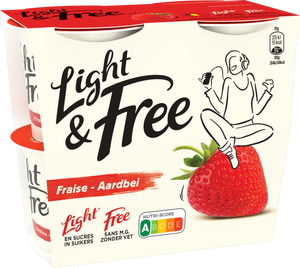 Light & Free Aardbei