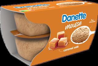 Danette Mousse Caramel Salé