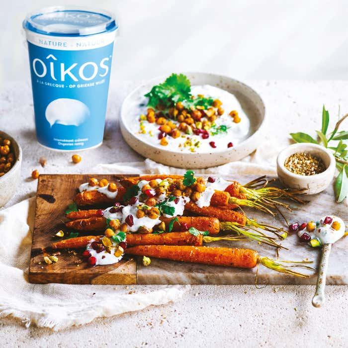 SAUCE SALEE OIKOS AUX POIS CHICHES GRILLES