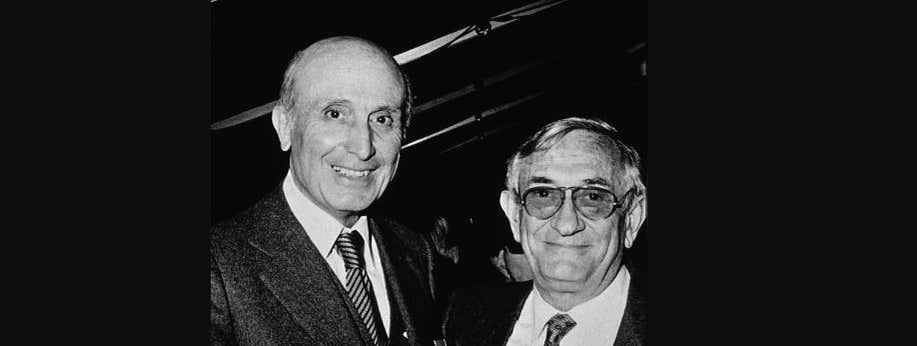 Daniel Carasso et Antoine Riboud