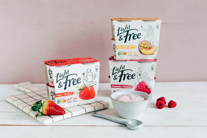 Light & Free Fruits, la touche onctueuse de ta journée !​