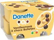 Danette Pop Saveur Vanille
