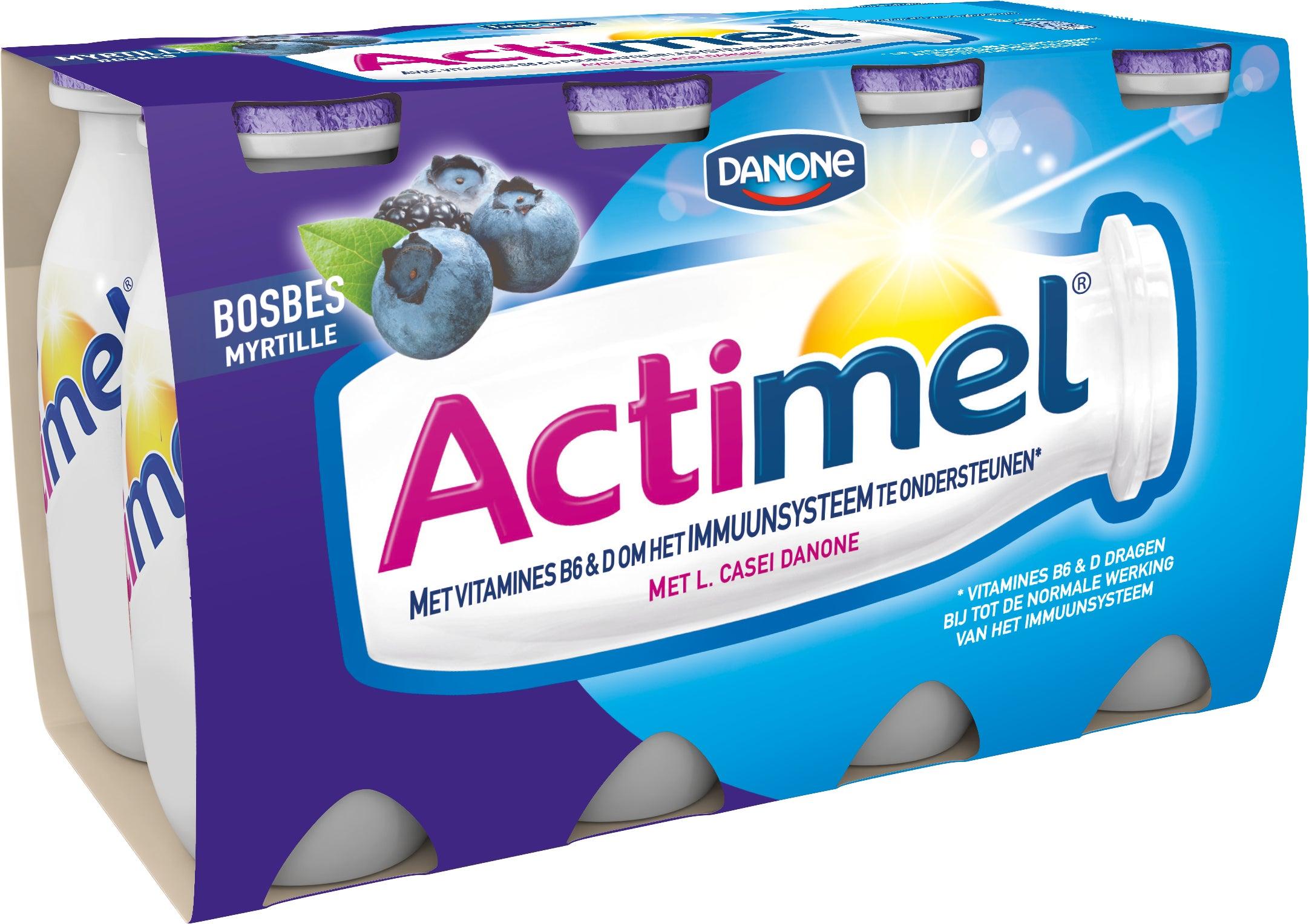 Actimel Myrtille 8x100ml