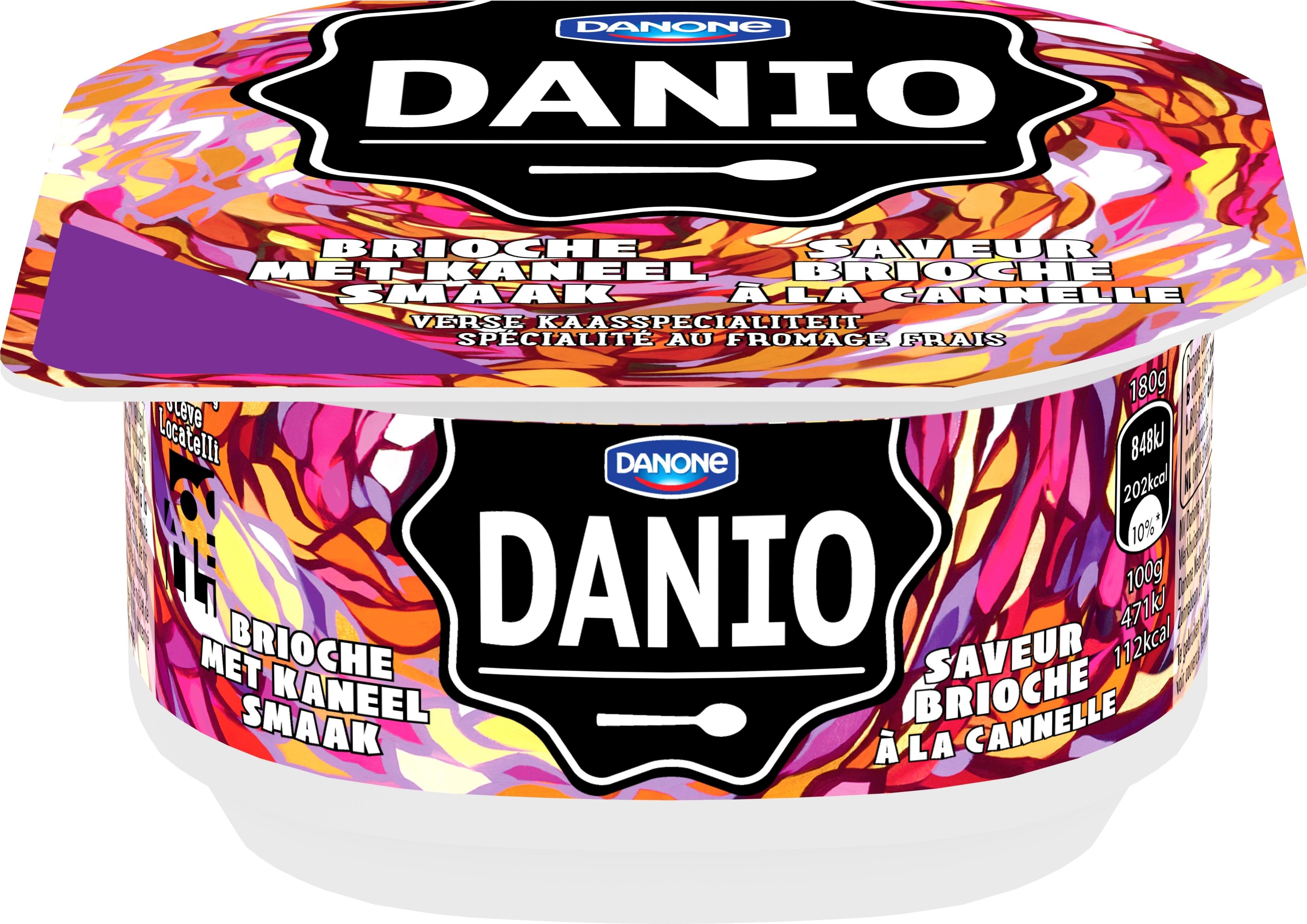 Danio Brioche met Kaneel Smaak 180g