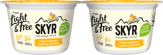 Light & Free Skyr Fruits Tropicaux