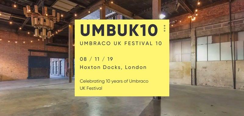 Umbraco UK Festival 10: Our Key Takeaways