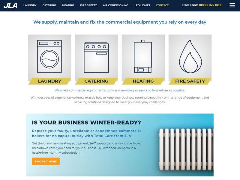 New Kentico 12 MVC website for JLA