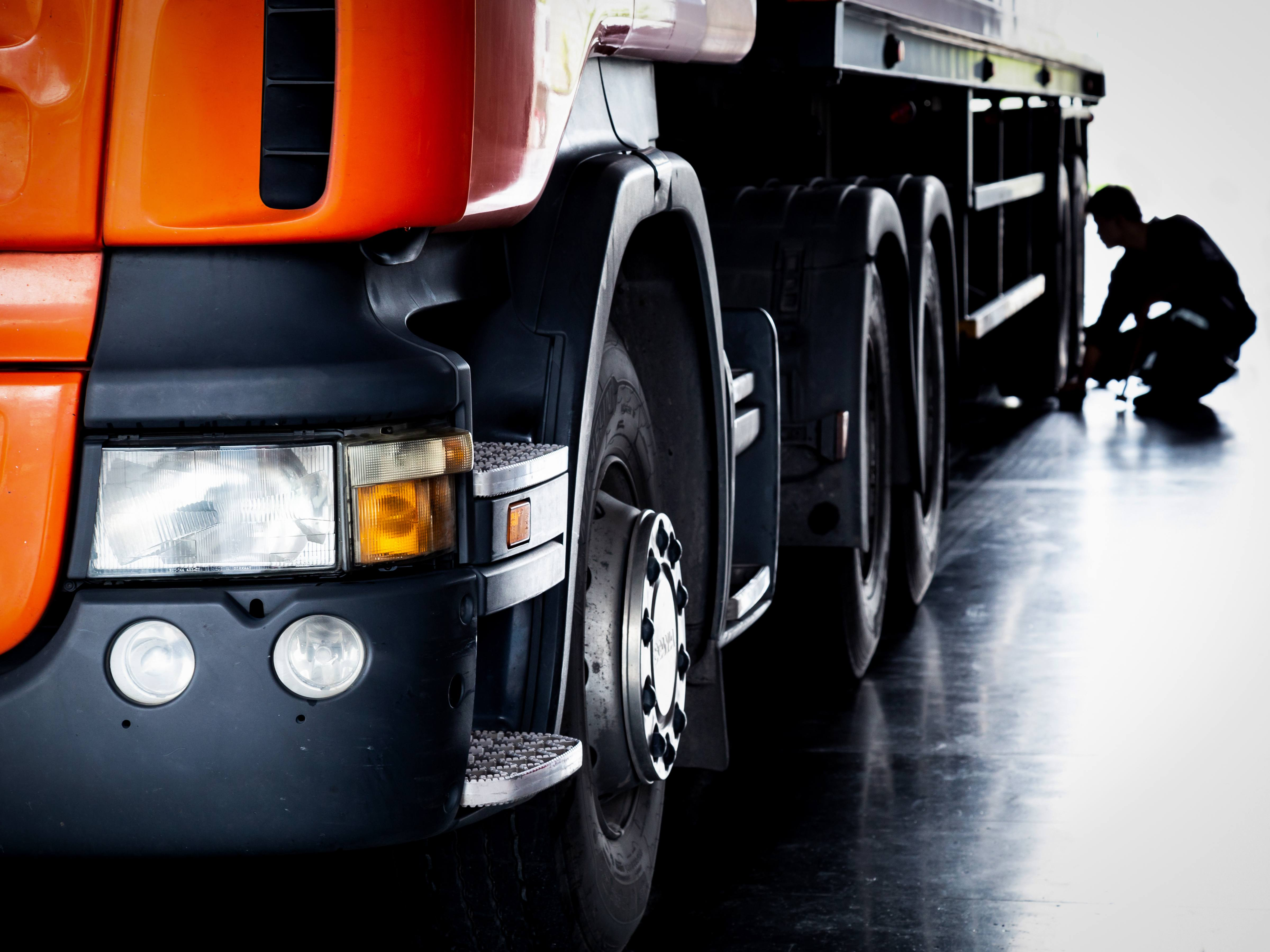 When is the search of a heavy vehicle lawful?