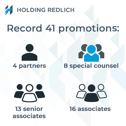 Holding Redlich promotes 41 lawyers on the back of strong performance