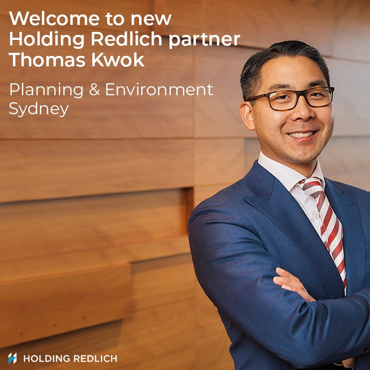 Holding Redlich appoints new Planning, Environment & Sustainability partner