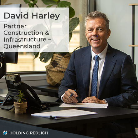 Holding Redlich appoints Brisbane-based construction, infrastructure and projects partner