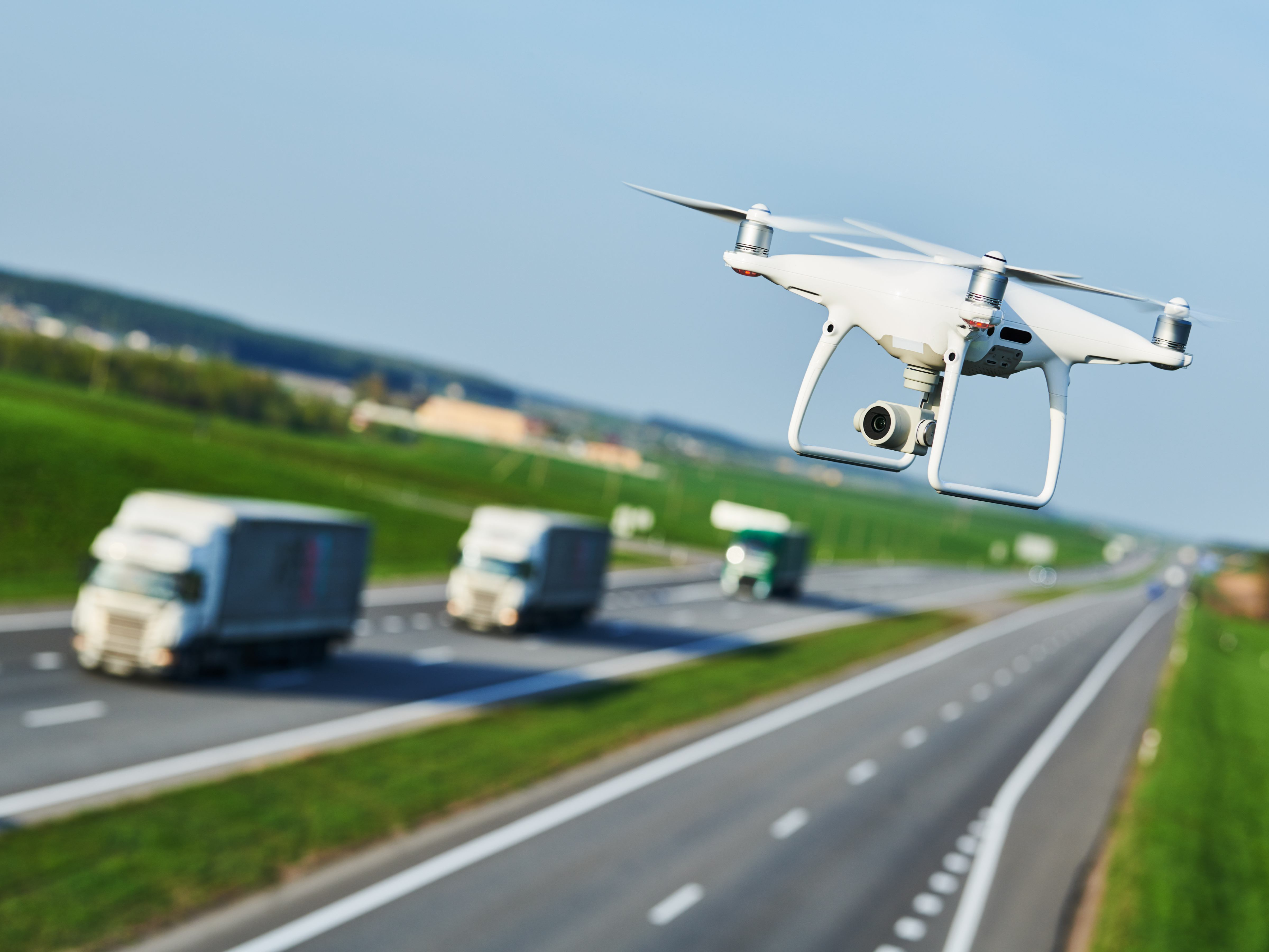 Look to the skies! Drones to monitor heavy vehicle compliance