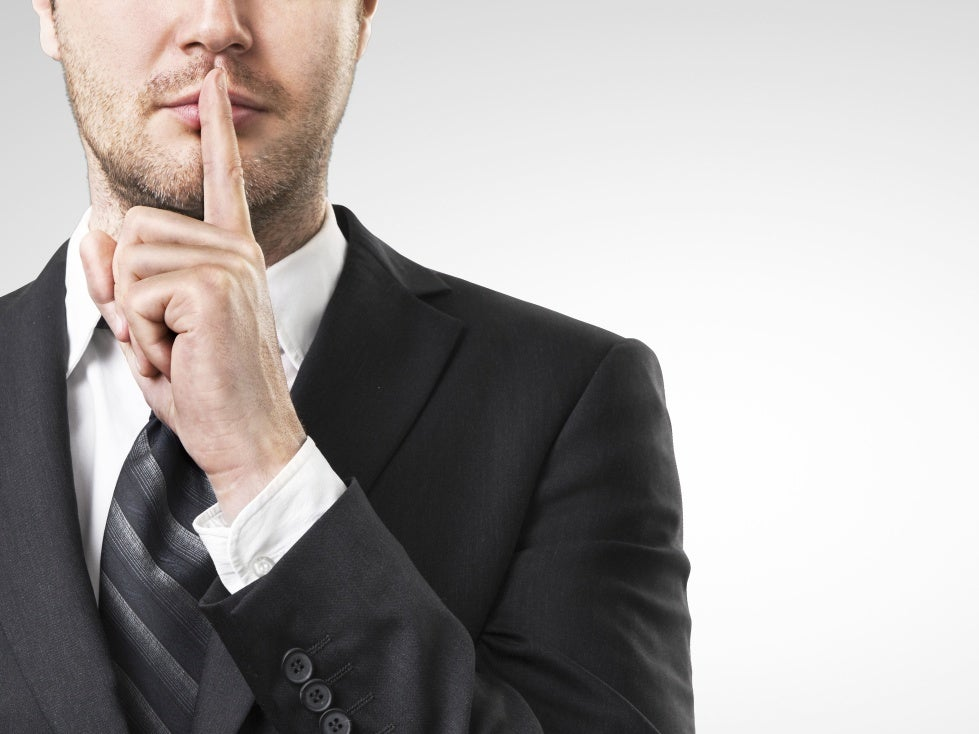 Does an employee have the right to silence?