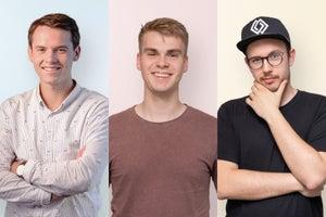 Maak kennis met Clarity: Jaap-Willem, Ewan en Jan-Willem.
