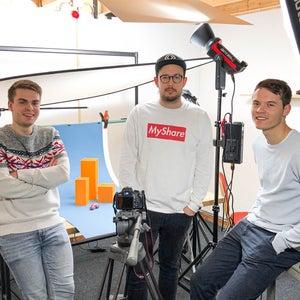 Maak kennis met de mediaspecialisten van Clarity: Jaap-Willem, Ewan en Jan-Willem.