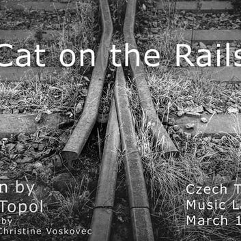 Poster for Cat on the Rails