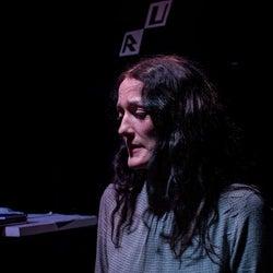 Alquist (Michelle Burke) despairs.