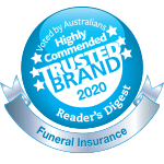 Reader's Digest 2020 Highly Commended Trusted Brand Award logo