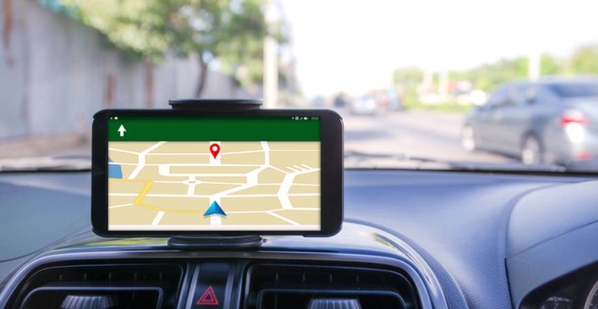 satellite navigation/GPS system