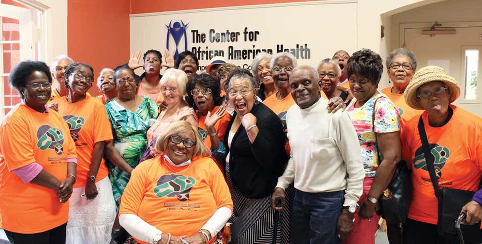 Aging Mastery Program summer graduates at the Center for African American Health.
