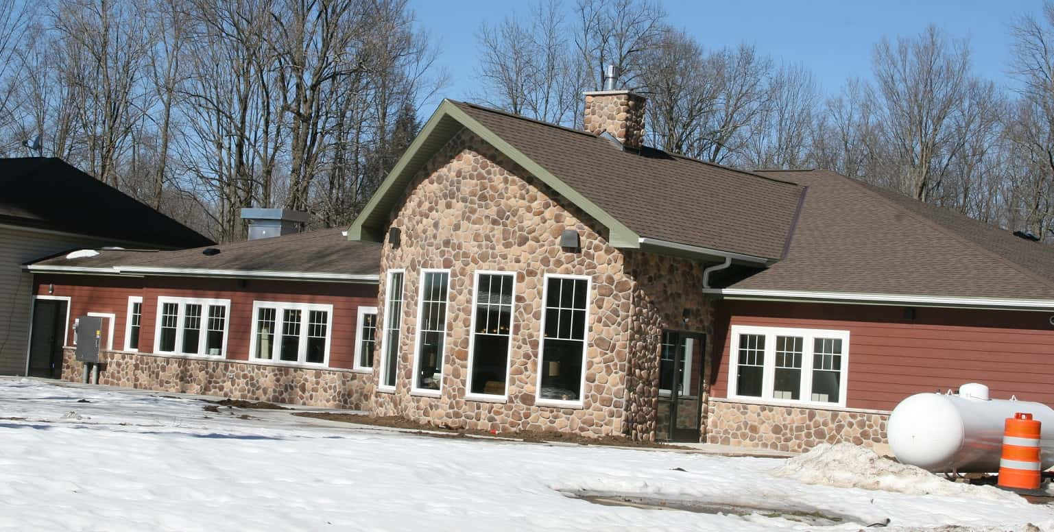 """The new 7,200-square-foot, $1.7 million Elder Center and dedicated it as the """"Eunice Stick Gathering Place."""""""