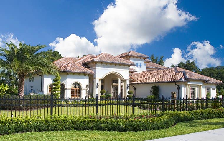 front of a house in lake worth florida