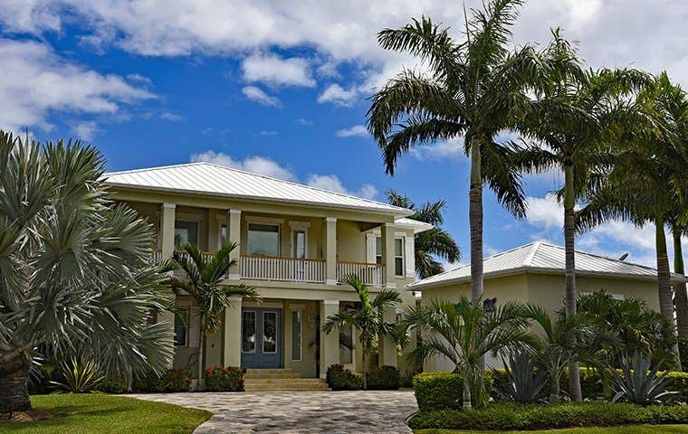 street view of a large two story house in jensen beach