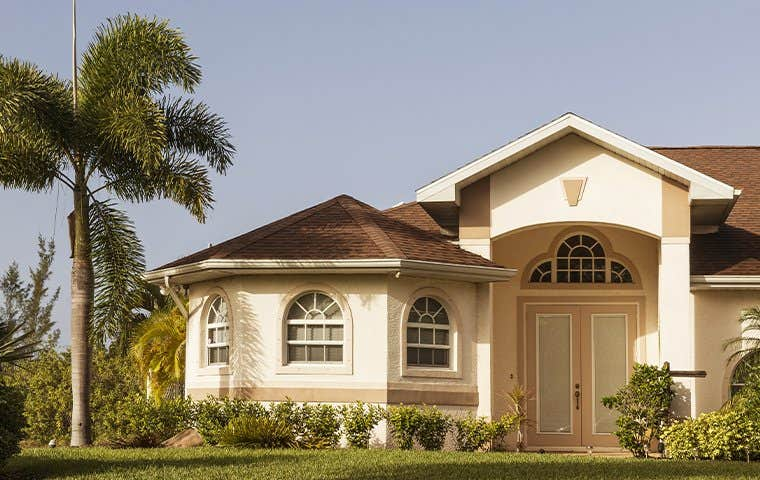 street view of a two story house in boca raton