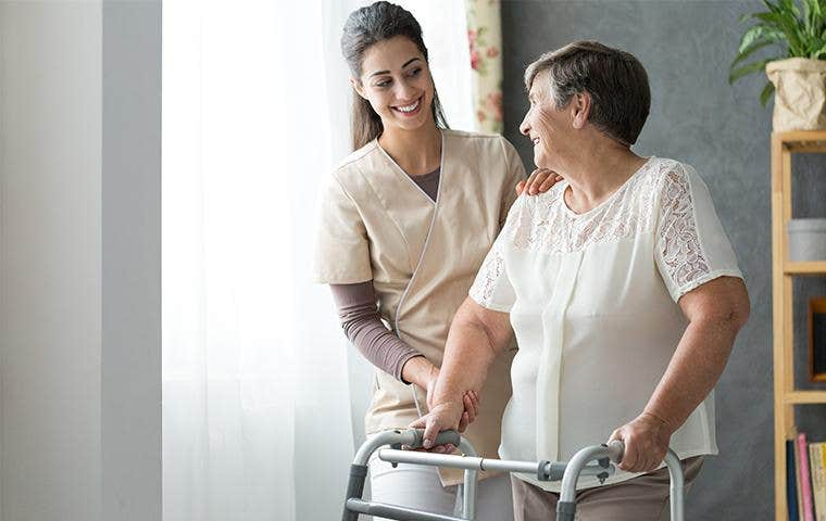 people in an adult care facility in lake worth florida